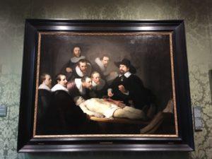 レンブラント・テュルプ博士の解剖学講義